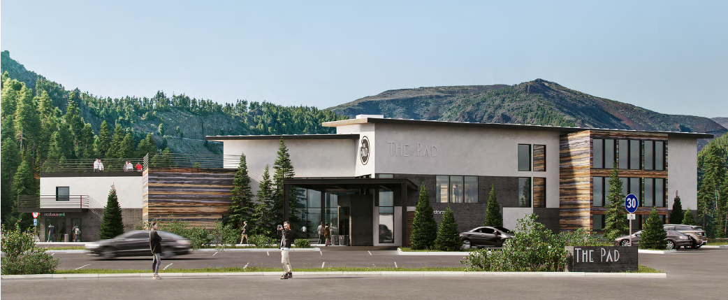 The Pad Silverthorne Front Building Rendering